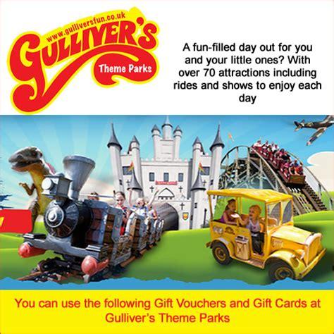 newspaper theme park vouchers gullivers world gift vouchers voucherline