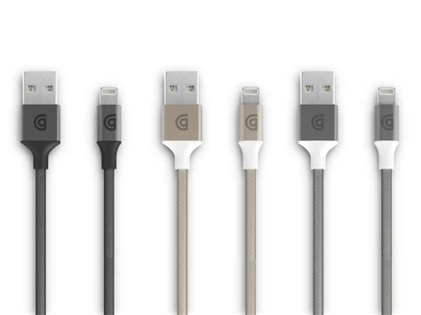 Usb Griffin griffin takes the wraps of new lightning cables with