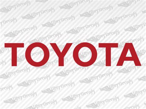 Toyota Truck Stickers Toyota Logo Decal Stickers