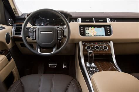 ford land rover interior comparison ford edge sport 2015 vs land rover range