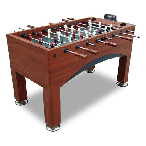 light up foosball table adjustable electronic goal foosball table