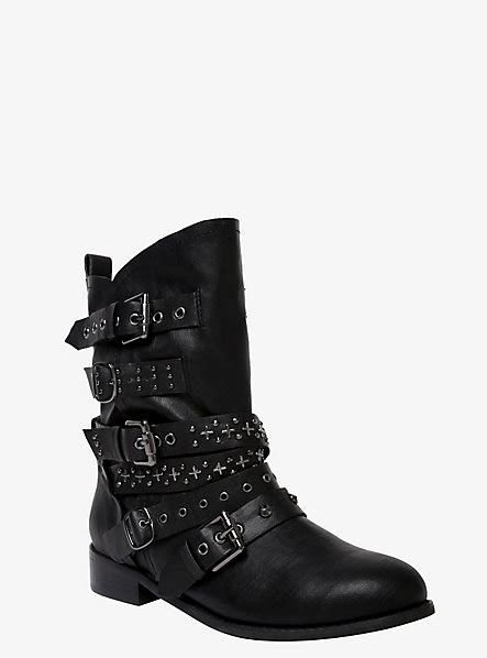 wide moto boots studded strap moto boots wide width torrid