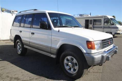 purchase used 1994 mitsubishi montero ls 4wd manual 6 cylinder no reserve in orange california