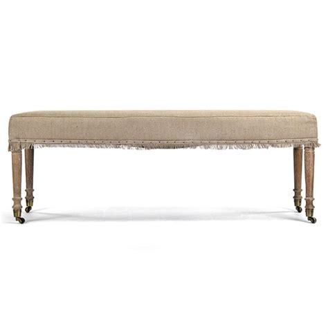 country wooden benches alfreda french country burlap limed oak wood bench kathy