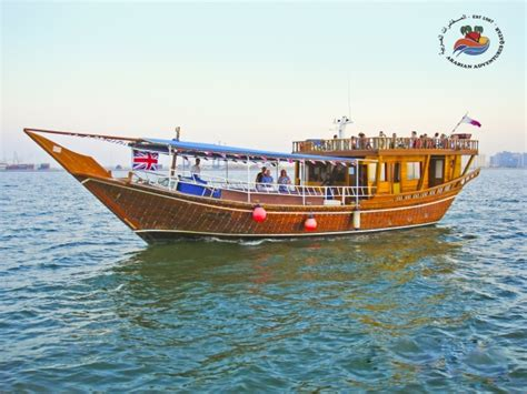 fishing boat for rent in qatar dhow cruise with bbq dinner doha renting dhows in doha