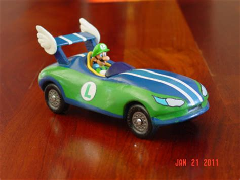 mario kart pinewood derby template luigi pinewood derby by bryan keck
