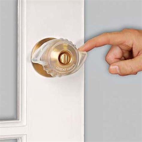 Door Knobs Grips Make It Easier For Someone With Arthritis Open The Door No