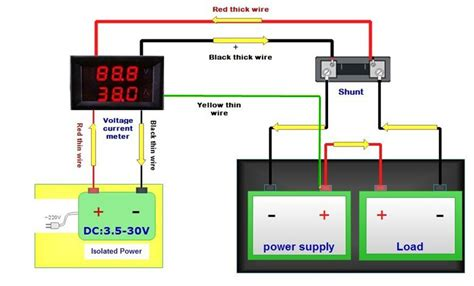 digital dc voltmeter wiring diagram 35 wiring diagram