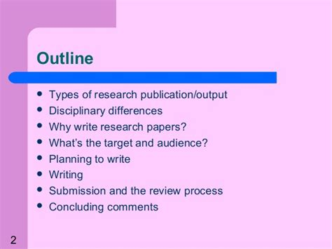 guide to writing research papers a guide to writing research papers