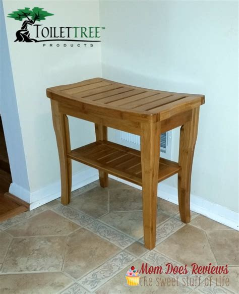bamboo shower bench toilettree bamboo shower seat with shelf review