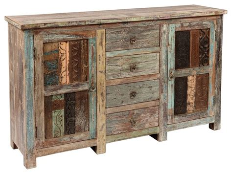Shabby Sideboard shabby chic vintage sideboard eclectic buffets and sideboards new york by zin home