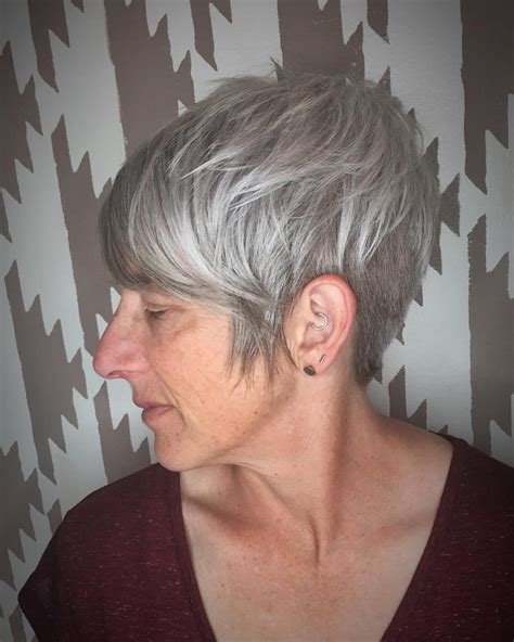 Disconnected Pixie Hairstyle by 38 Best Hairstyles For 50 In 2018