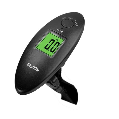 Luggage Handheld Electronic Scales 40kg 10g 88lb digital electronic luggage scale lcd display portable travel handheld weighing