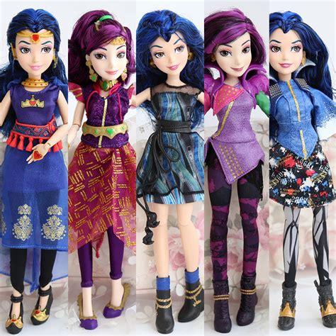 anime mal and evie 11inches original josephina descendants evie mal model bjd