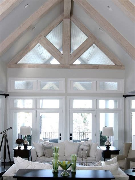 vaulted ceiling pictures white living room with vaulted ceiling modern farmhouse