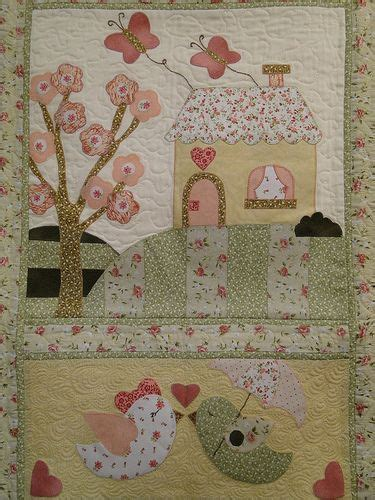 Patchwork Quilt Ideas - 674 best images about applique houses 2 on