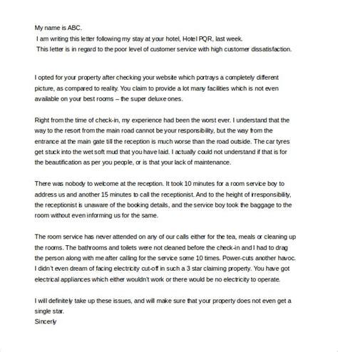 Letter Complaint Bad Service Hospital letter of complaint bad service ingyenoltoztetosjatekok