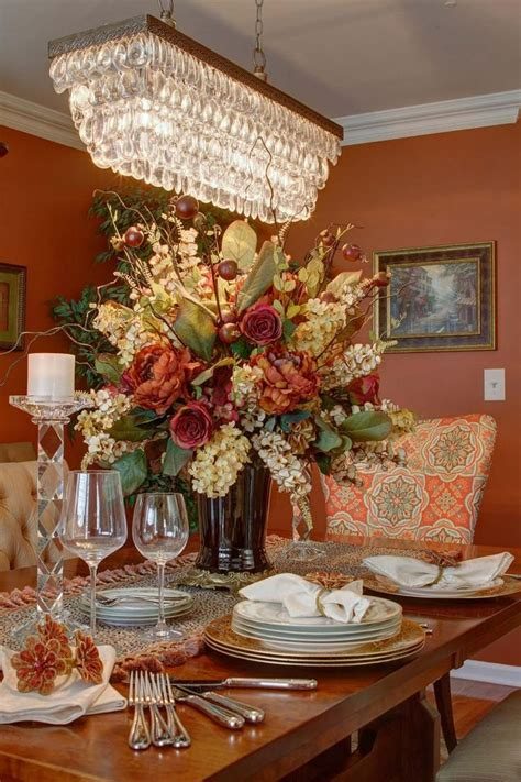 Flower Arrangement Ideas For Dining Table 69 Dining Room Table Flower Arrangements Large Dining Table Centerpiece Silk Flower