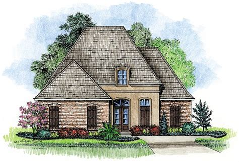 Prestidge country french home plans louisiana house plans