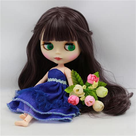 Doll Premium premium icy neo blythe doll joint purple hair free gifts