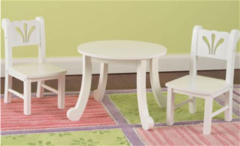 kidkraft lil doll table and chairs set white 15 kidkraft doll white table chairs set shipped reg