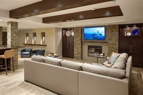 recreation room ideas custom finished basement rec room created by drury design