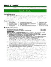 executive director resume template 1000 images about executive director on