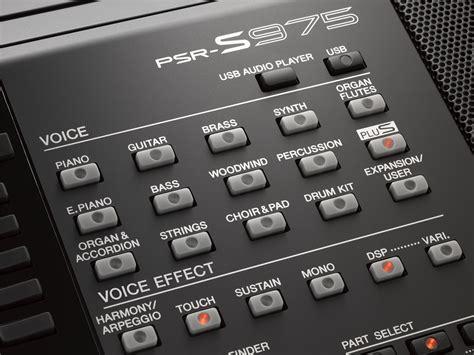 Keyboard Yamaha S975 Digital Keyboards New Yamaha Psr S975
