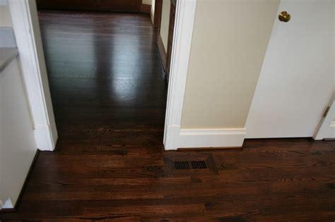 kitchen floor replacement replacement douglas fir floor with new oak floor