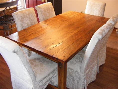 reclaimed dining table craigslist tables chairs