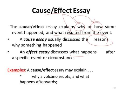 Cause And Effect Essay Outline by How To Write A Cause And Effect Essay Exles Cause And Effect Essay Topics Write Cause And