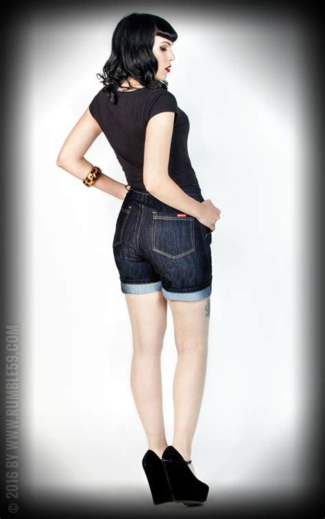 Size 27 30 Hotpants Missipi Non Stretch hotpants rumble59 official rumble59 shop for