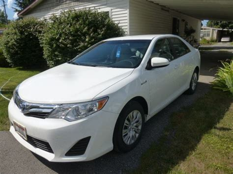 Toyota Camry Used Cars For Sale By Owner 2012 Toyota Camry Hybrid For Sale By Owner In Hayden Id 83835