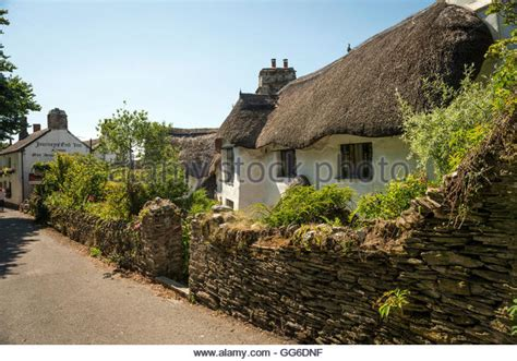 Cottages In South Hams by Thatched Cottage South Stock Photos Thatched