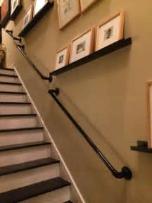 Indoor Handrails Wall 25 Best Ideas About Stair Railing On Banister