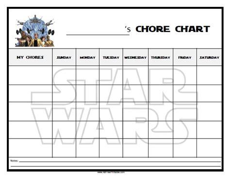 printable star wars reward chart 6 best images of star wars chore chart printable star