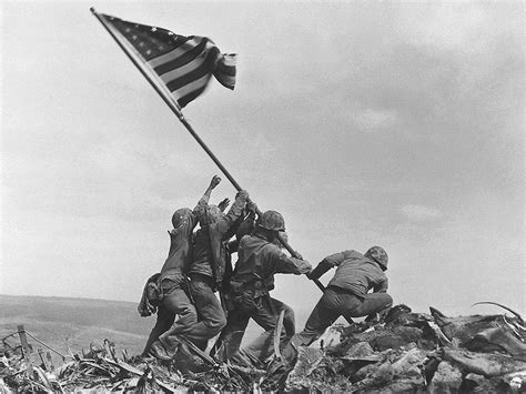 Ap Sldiery 2 soldier in world war ii flag raising photo was misidentified