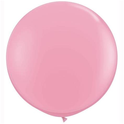 Large Pink Balloon big balloon 36 quot 3ft 1m pink qualatex large balloons pretty shop