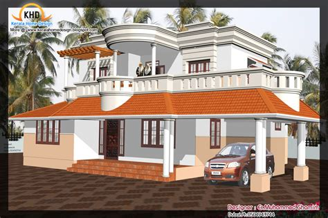 home designer pro elevations home elevation design in 3d kerala home design and floor