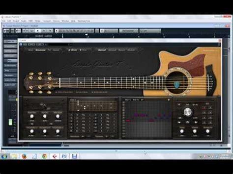 tutorial virtual guitar steinberg virtual guitarist 2 free download doovi