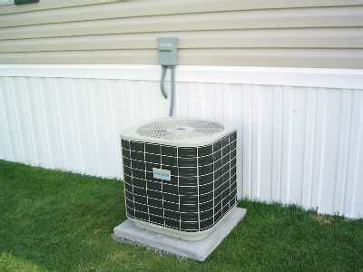 central air conditioner central air conditioner mobile home