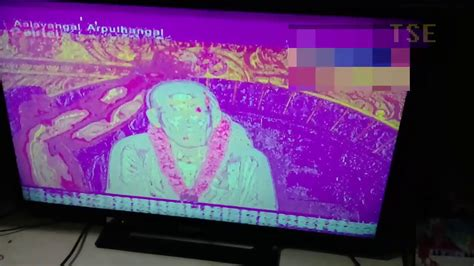 my color screen fix pink purple violet tv screen problem in hdmi led tv