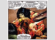 By Crom, Conan can Frisbee!   Enemy of Peanuts C