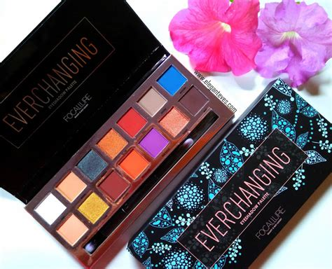 Focallure Tropical Vacation Eyeshadow Palette focallure everchanging eyeshadow palette review swatches