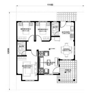 Floor Plans Designs Small House Plan Lot Size 150 Square Meters Myhomemyzone Com