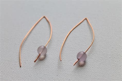 how to make wire jewelry how to make and simple wire earrings emerging