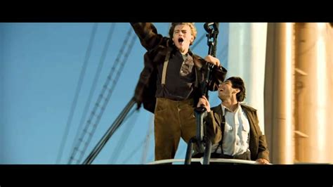 King Of The World titanic 3d quot i m the king of the world quot official clip