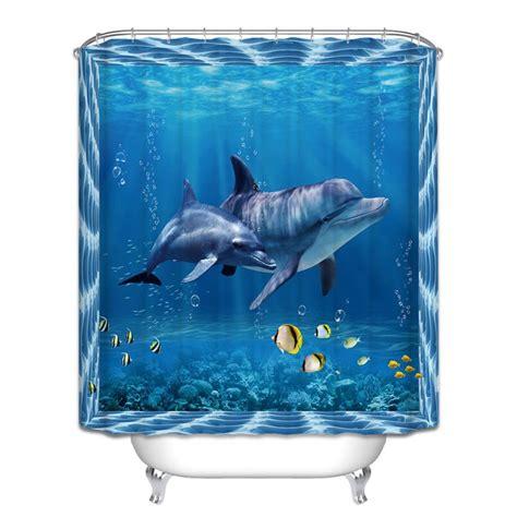 shark themed bathroom shower curtain decor promotion shop for promotional shower curtain decor on aliexpress com