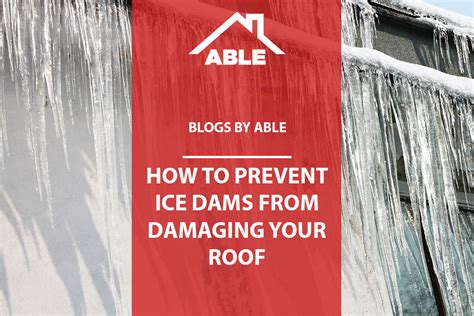 How To Prevent Roof Dams How To Prevent Dams From Damaging Your Roof Able Roof