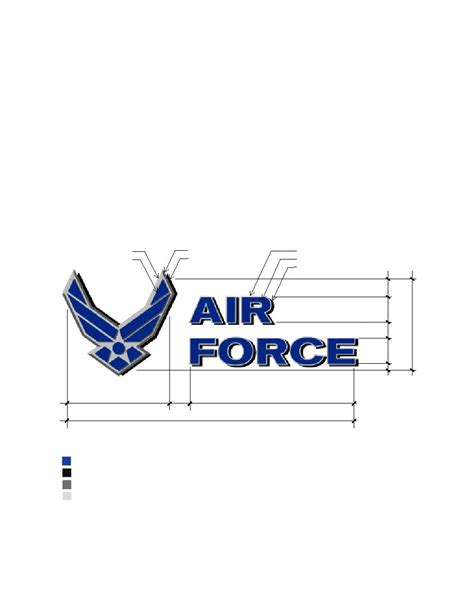 figure 4 49 template for air force symbol on water tower